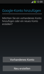 Samsung S7275 Galaxy Ace 3 - Apps - Konto anlegen und einrichten - Schritt 4