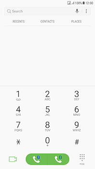 Samsung Galaxy J7 (2017) - Voicemail - Manual configuration - Step 4