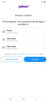 Samsung Galaxy Note20 Ultra 5G - E-mails - Ajouter ou modifier votre compte Yahoo - Étape 11