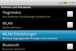 HTC A810e ChaCha - WLAN - Manuelle Konfiguration - Schritt 5