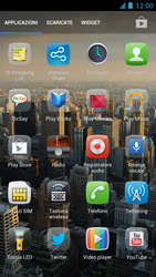 Alcatel One Touch Idol - Applicazioni - Installazione delle applicazioni - Fase 4