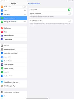 Apple iPad Pro 12.9 (2nd gen) - iPadOS 13 - Internet et roaming de données - Désactivation du roaming de données - Étape 6