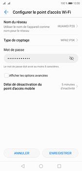 Huawei P20 - Internet et connexion - Partager votre connexion en Wi-Fi - Étape 8