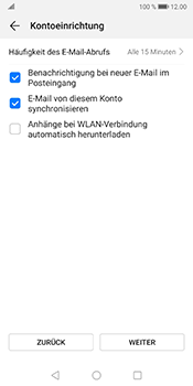 Huawei Mate 10 Pro - Android Pie - E-Mail - 032b. Email wizard - Yahoo - Schritt 7