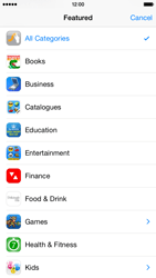Apple iPhone 6 iOS 8 - Applications - installing applications - Step 6