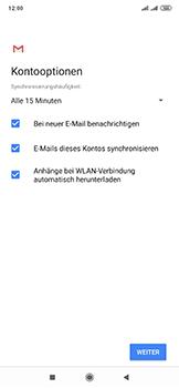 Xiaomi Mi Mix 3 5G - E-Mail - 032c. Email wizard - Outlook - Schritt 11