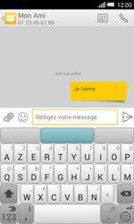 Alcatel OT-5050X Pop S3 - Contact, Appels, SMS/MMS - Envoyer un SMS - Étape 10