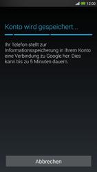 HTC One Max - Apps - Konto anlegen und einrichten - 19 / 22