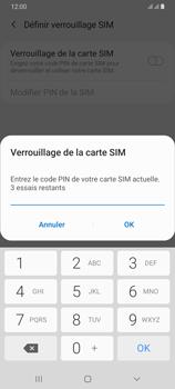Samsung Galaxy A70 - Prise en main - Comment activer un code SIM - Étape 9