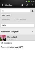 HTC Desire 601 - E-Mail - E-Mail versenden - Schritt 17