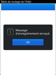 BlackBerry 9810 Torch - Paramètres - Reçus par SMS - Étape 8