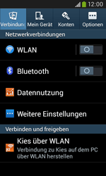 Samsung Galaxy Trend Plus - Netzwerk - Netzwerkeinstellungen ändern - 4 / 8