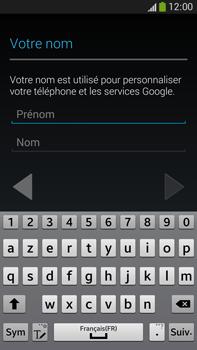 Samsung Galaxy Note 3 - Applications - Créer un compte - Étape 5