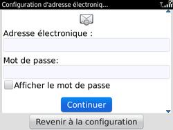 BlackBerry 9780 Bold - E-mail - Configuration manuelle - Étape 6