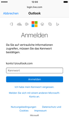 Apple iPhone 6 iOS 10 - E-Mail - Konto einrichten (outlook) - Schritt 8