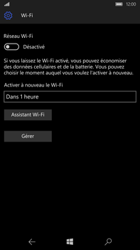 Microsoft Lumia 950 XL - Wifi - configuration manuelle - Étape 5