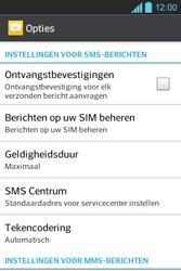 LG E610 Optimus L5 - SMS - Handmatig instellen - Stap 4