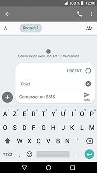 Crosscall Trekker X4 - Contact, Appels, SMS/MMS - Envoyer un MMS - Étape 8