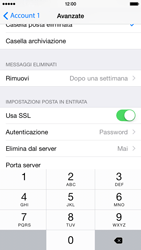 Apple iPhone 6 iOS 8 - E-mail - configurazione manuale - Fase 23