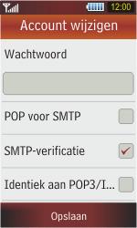 Samsung S5230 Star - e-mail - handmatig instellen - stap 13