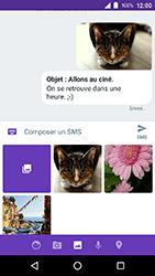 Crosscall Action X3 - Contact, Appels, SMS/MMS - Envoyer un MMS - Étape 20