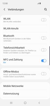 Samsung Galaxy S10e - Internet und Datenroaming - Prüfen, ob Datenkonnektivität aktiviert ist - Schritt 5