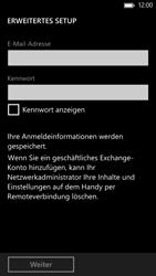 HTC Windows Phone 8X - E-Mail - Manuelle Konfiguration - Schritt 7