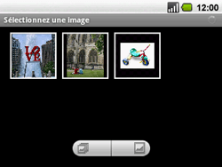Acer BeTouch E130 - MMS - envoi d