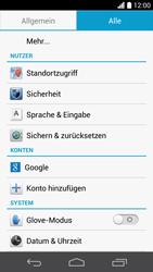 Huawei Ascend P6 LTE - Fehlerbehebung - Handy zurücksetzen - 2 / 2
