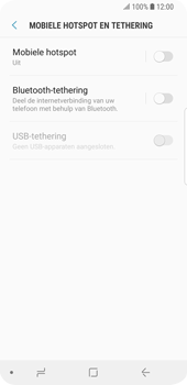 Samsung Galaxy S9 (SM-G960F) - WiFi - Mobiele hotspot instellen - Stap 6