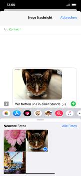 Apple iPhone XS Max - iOS 13 - MMS - Erstellen und senden - Schritt 17