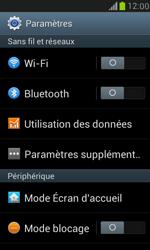 Samsung Galaxy S III Mini - Réseau - Sélection manuelle du réseau - Étape 4
