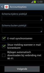 Samsung S7390 Galaxy Trend Lite - e-mail - handmatig instellen - stap 17