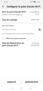 Huawei Y5 (2019) - Internet - comment configurer un point d'accès mobile - Étape 9