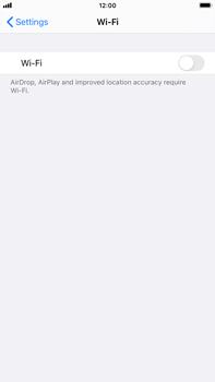 Apple iPhone 8 Plus - iOS 14 - WiFi - WiFi configuration - Step 4