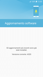 Samsung Galaxy A5 (2017) - Software - Installazione degli aggiornamenti software - Fase 8