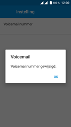 Crosscall Trekker M1 Core - Voicemail - handmatig instellen - Stap 13