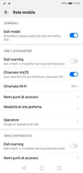 Huawei P20 - Android Pie - Rete - Selezione manuale della rete - Fase 5