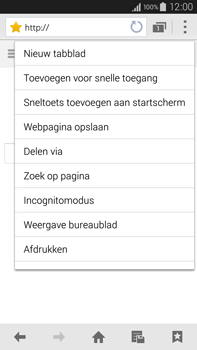 Samsung Galaxy Note 4 4G (SM-N910F) - Internet - Hoe te internetten - Stap 11