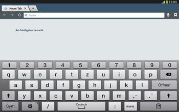 Samsung Galaxy Tab 3 10-1 LTE - Internet und Datenroaming - Verwenden des Internets - Schritt 5