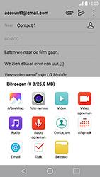 LG K10 (2017) (M250n) - E-mail - Bericht met attachment versturen - Stap 11