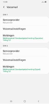Samsung Galaxy A10 - Voicemail - handmatig instellen - Stap 9
