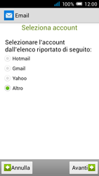 Alcatel Pop C7 - E-mail - configurazione manuale - Fase 12