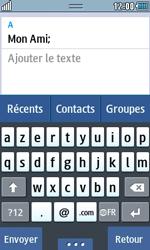 Samsung Wave 723 - Contact, Appels, SMS/MMS - Envoyer un SMS - Étape 9