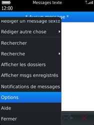 BlackBerry 9810 Torch - SMS - Configuration manuelle - Étape 5