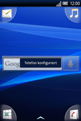 Sony Ericsson Xperia X8 - MMS - Automatische Konfiguration - Schritt 7