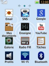 LG T385 - E-mails - Ajouter ou modifier un compte e-mail - Étape 3