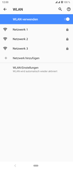 Sony Xperia 5 - WiFi - WiFi-Konfiguration - Schritt 7
