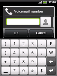 HTC A3333 Wildfire - Voicemail - Manual configuration - Step 6