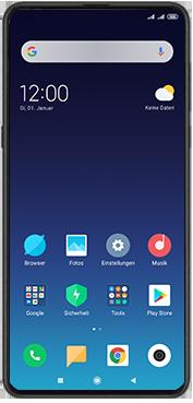 Xiaomi Mi Mix 3 5G - Gerät - Einen Soft-Reset durchführen - Schritt 2